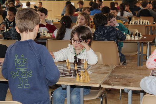 Théo, 5 ans, le plus jeune du tournoi !